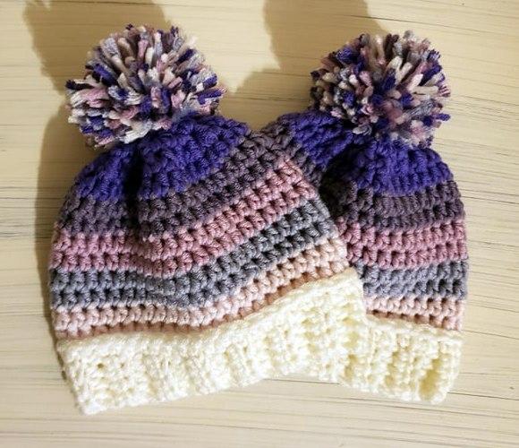 Free Caron X Pantone Newborn Hat Pattern