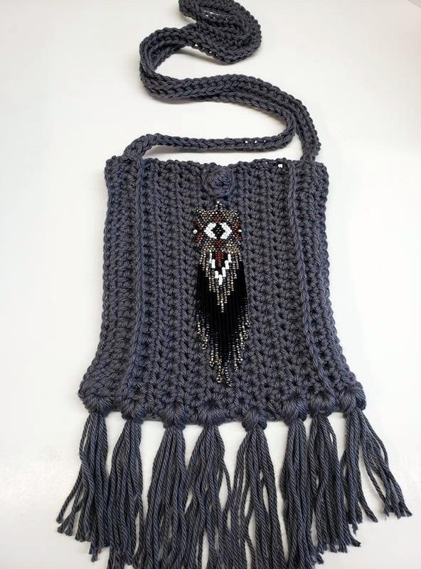 Free Crochet Boho Bag Pattern